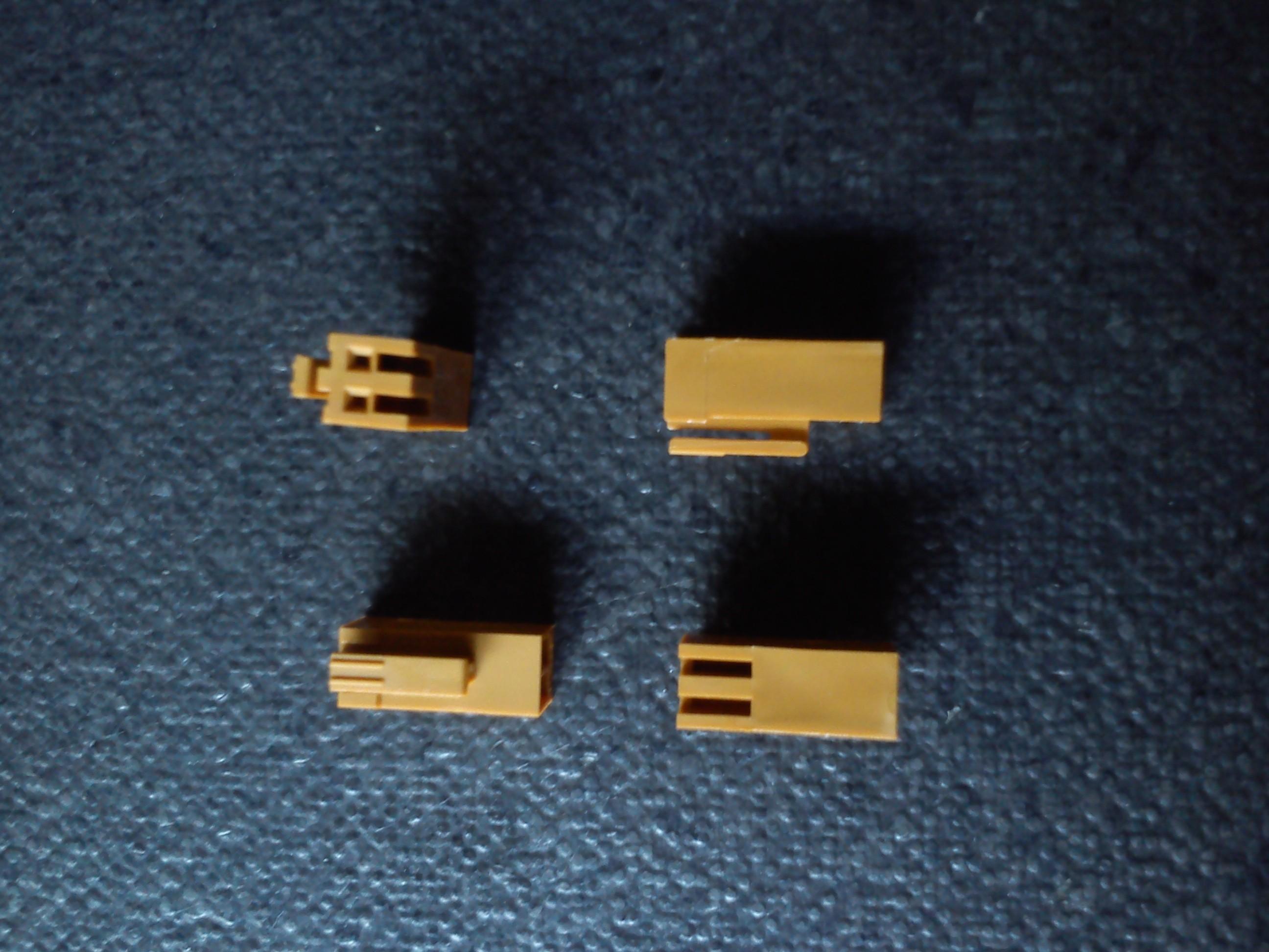 5 pz connettore JAE IL-2S-S3L, 2vie, passo 2.54