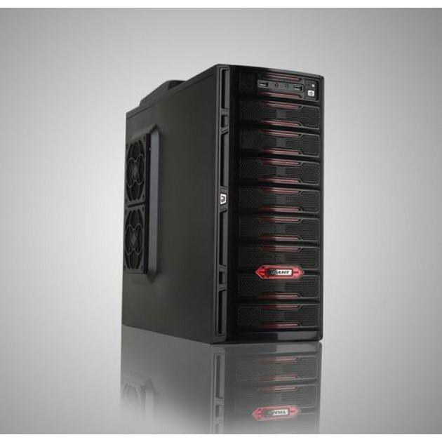 Case per PC Design Rosso/Nero