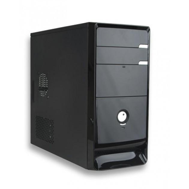 Case Mini ATX 430W Nero/silver