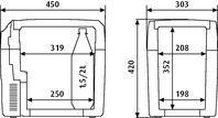 Frigorifero portatile termoelettrico 21 litri WAECO TC21FL