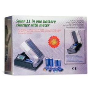 Carica batterie solare - Solar 11 in one battery charger