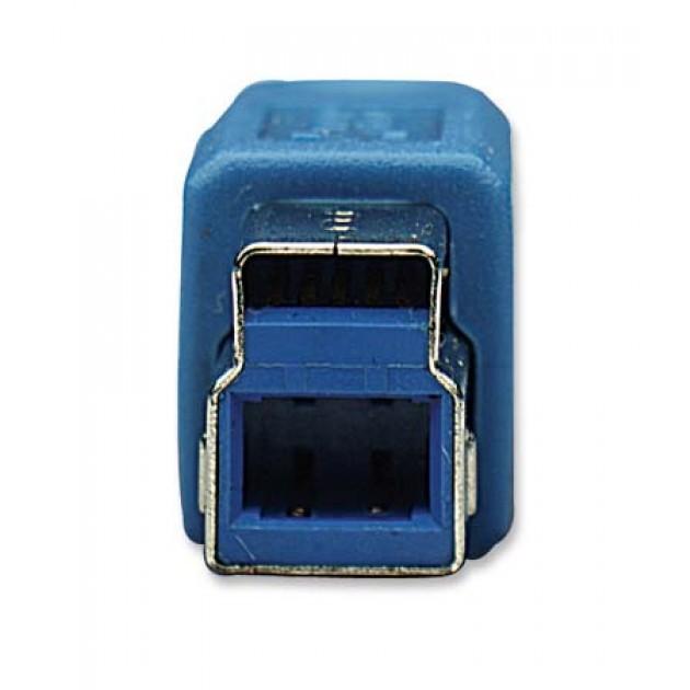 Cavo USB 3.0 tipo A/B M/M 2mt blu