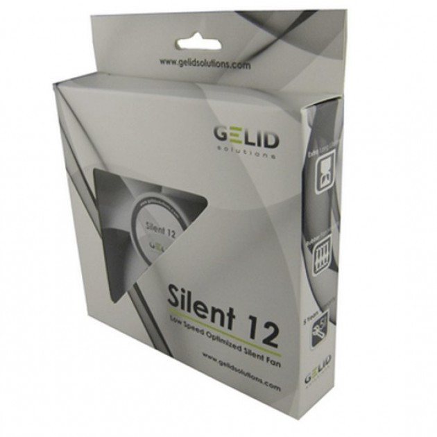 VENTOLA SILENT 120x120x25 12 V
