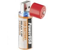 Batteria ricaricabile Stilo NiMH (AA) USB
