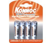 Blister 4 batterie stilo AA 2300 mAh