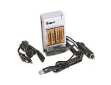 Caricabatterie da viaggio USB/rete 110/220 V