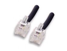Cavo telefonico RJ11 Modulare 6 Poli 4 Contatti 3 mt