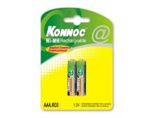 Blister 2 batterie mini stilo AAA 1000 mAh
