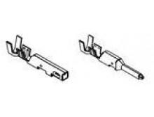 Connettori 2 poli mini fit maschio e femmina + contatti