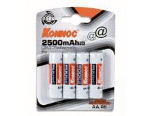Blister 4 batterie stilo AA 2600 mAh