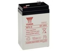 Batteria tampone di ricambio Piombo-Acido per UPS 6 V 4 Ah