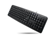 Tastiera standard PS2 nera